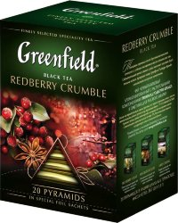 Гринфилд Redberry Crumble 20пак.